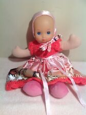 You And Me My First Baby Glowing Face & Lullaby Doll Soft Body 33cm Tall  VGC