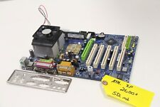 Gigabyte GA-7VA Athlon XP 2600+ 512mb Motherboard CPU RAM Combo I/O Shield AMD
