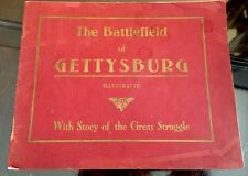 Very Scarce Book Battlefield Of Gettysburg Great Struggle 1906 W H Tipton Nelson