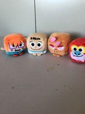 NICKELODEON Wish Factory Kawaii Cube Plush Chuckie, Ren, Stimpy And Tommy