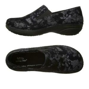 Spring Step Professional Manila Slip On Women Work Shoes Leather Comfort Clogs