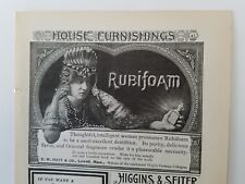 Collectibles 1902 Ew Hoyt Rubifoam Dentrifice Ad Featuring Beautiful Woman