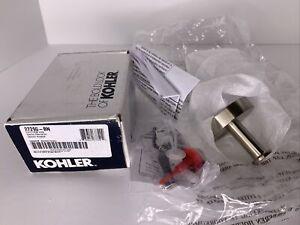 NEW Kohler 27290-BN Elate Robe Hook, Vibrant Brushed Nickel