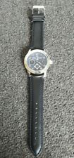 Brand New Daniel Hechter Atlas for Men silver coloured + black Quartz watch