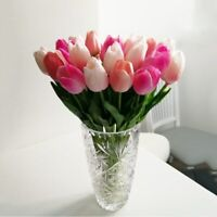 10pcs Easter Decoration Artificial Flowers Garden Tulips Tulipan Real touch