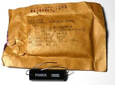 Original mil. US Western Electric spare part 196000 ohms resistor NOS NIB
