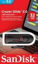 SanDisk Cruzer Glide 3.0 32GB USB 3.0-Stick - Schwarz