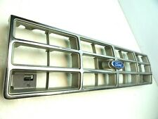 (90 Ford Ranger) Chrome Grille F07B-8150-AA-BB ($45-PICK-UP-PRICE)(Small-Crack)