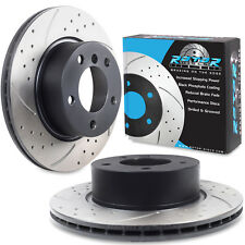 FRONT DRILLED GROOVED 292mm BRAKE DISCS FOR BMW 3 SERIES E90 E91 E92 E93 TOURING