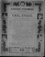 F. Mazas, OP. 36 Heft 1 Etudes speciales - alt übergroß