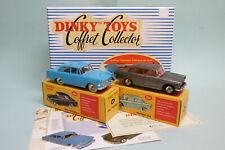 Dinky Toys / Atlas Coffret SOUVENIR D'AFRIQUE DU SUD Peugeot 404 + Rekord 550 AS