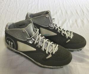 Warrior Adonis 2.0 Lacrosse Exploweave Cleats Shoes Men's Gray Size 10