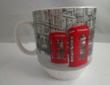 Coffee Mug Cup Retro Red Phone Booth United Kingdom