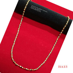 22k Carat  gold plated  chain elegant necklace sets fashion JEWELRY U23   24 in