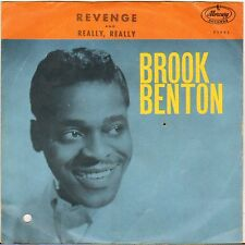 "BROOK BENTON ""REVENGE"" POP SOUL SP 1961 MERCURY 71903"