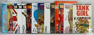 Lot of 31: TANK GIRL Graphic Novels, Comics &  Poster Magazines