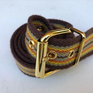 Hurley Men's Golden Buckle belt size 28-32