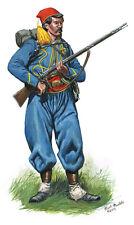 Mark Maritato Civil War Soldier 146th New York Infantry Zouave Signed Art Print