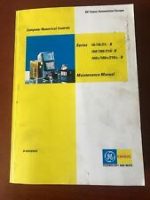 GE:Fanuc 16i, 18i, 21i B Maintenance Manual