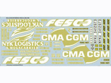 Decals for Container, FESCO & CMA CGM - 1/43 Scale Collectible Model Car