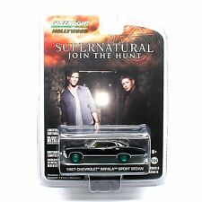 Chase 1967 CHEVROLET IMPALA 4 DOORS SUPERNATURAL 1/64 GREENLIGHT 44692