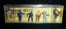 Preiser, Vintage, New Package, Item# 4016, Ho scale, Delivery men with loads, 6x