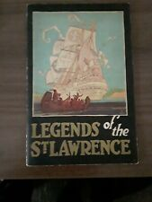 1926, Canadian Pacific, Legends Of The St. Lawrence, softcover, VG cond