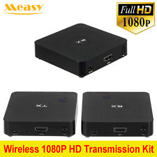 NEW Measy 30m W2H Wireless HDMI Extender Transmitter Kit Receiver Full HD 1080P