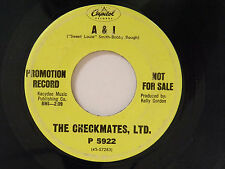 The Checkmates 45 A&I / WALK IN THE SUNLIGHT~Capitol VG-