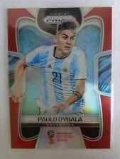 # 10 Paulo DYBALA  Rookie 2018 PANINI PRIZM WORLD CUP Red 090 /149 PRIZMS