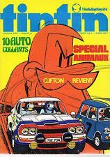 ▬►Tintin N° 62 de 1974 Clifton Revient Complet avec Autocollants  TBE