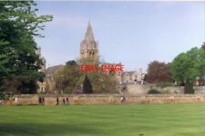 PHOTO  1994 OXFORD BEHIND CHRIST CHURCH CATHEDRAL AND CHRIST CHURCH COLLEGE NEAR