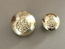 Buttons : Intelligence Corps Buttons 26 & 19mm,  Gaunt, London