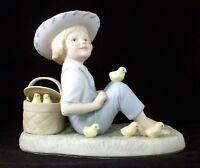 Vintage Cybis Porcelain Figurine Little Jamie Excellent Condition