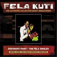 Fela Kuti-Roforofo Fight/The Fela Singles  (UK IMPORT)  CD NEW