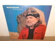Willie Nelson . The Promiseland . Columbia Promo . Near Mint . LP