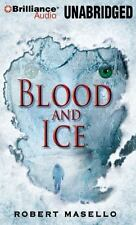 BLOOD AND ICE unabridged audio book on CD by ROBERT MASELLO - Brand New! 17 Hrs!