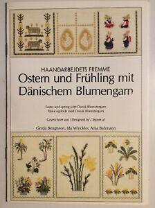 Haandarbejdets Fremme // Ostern und Frühling // Kreuzstich Vorlagenheft