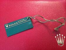 Genuine Rolex Hang Tag Vintage Oyster Swimpruf