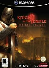 KNIGHT OF THE TEMPLE INFERNAL CRUSADE / GAMECUBE NEUF SOUS BLISTER D'ORIGINE VF