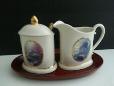 Thomas Kinkade Sugar And Cream Set Free Shipping