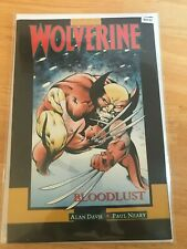 Wolverine: Bloodlust - High Grade Comic Book - B34-41
