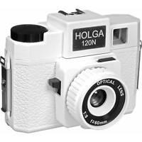 USD - Holga 120N 120 N Medium Format Film Camera WHITE Lomo Kodak Ilford Fuji