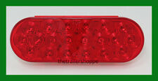 "Grand General 6"" Oval SST LED Tail Light 20 Red  LEDs Truck Trailer"