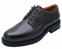 MENS BROWN LEATHER AMBLERS LACE-UP SMART FORMAL WEDDING WORK SHOES UK 10 & 11