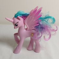 "My Little Pony FiM G4 4"" Royal Castle Princess Celestia Brushable Figure MLP"