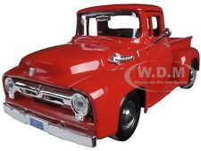 Damage 1956 FORD F-100 PICKUP RED 1:24 DIECAST MODEL CAR BY MOTORMAX 73235