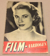 GRACE KELLY FRONT COVER DANISH VINTAGE MAGAZINE BOOKLET NICE FILM-AARBOGEN 1955