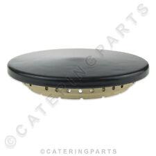 GRANDE 118mm DIMENSIONE Parte superiore Bruciatore a gas anello in ottone & Cap