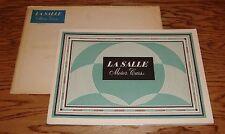Original 1931 La Salle Motor Cars Sales Brochure + Envelope 31